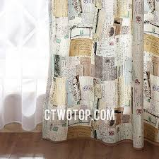Brown Burlap Curtains Cool Patterned Fancy Bedroom Beige And Brown Burlap Curtains