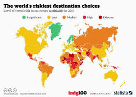 the most dangerous places in the world to go on indy100