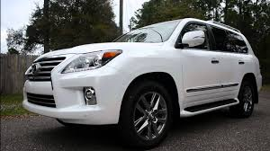 lexus lx 570 all terrain tires 2014 lexus lx570 8 passenger 4wd off road video review youtube
