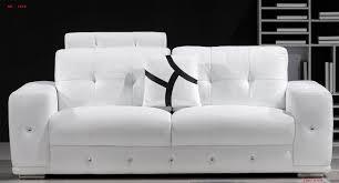 canapé 3 places blanc ensemble de canapés en cuir design 3 1 places mahé