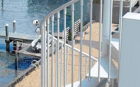 aluminum spiral staircases mylen stairs