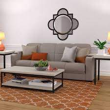 sofa futon mainstays futon with storage sofa sleeper bed