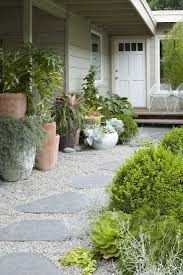 Backyard Gravel Ideas - landscaping great designs with rocks and gravelsand green shrubs l