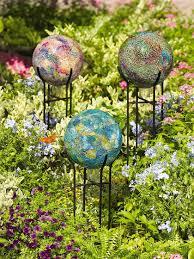 Gazing Balls Garden Garden Globes Garden Globes Paddock Fencing Gardenpuzzle Project