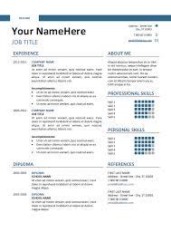 Clean Resume Template Clean Resume Templates 28 Images Clean Resume Cv Template