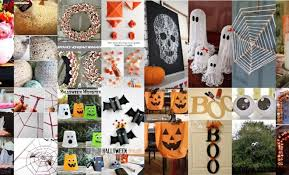 Halloween Decorations Home Made Easy Cheap Homemade Halloween Decorations 9937