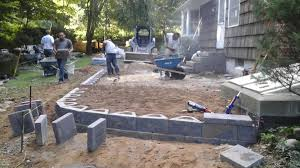 patio pavers install li paving and masonry