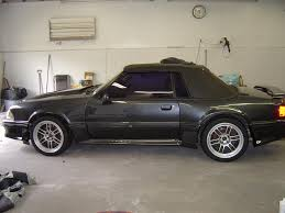 Black Fox Mustang Fox Body 18