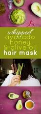 whipped avocado honey and olive oil hair mask wholefully