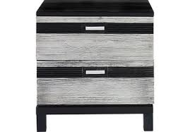 silver nightstands u0026 bedside tables