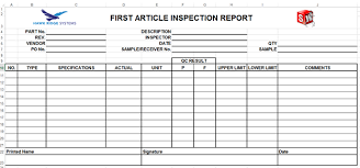 engineering inspection report template creating solidworks custom report templates