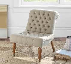 Tufted Slipper Chair Sale Design Ideas Carolyn Tufted Upholstered Slipper Chair Polyester Wrapped