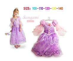Rapunzel Halloween Costumes 2017 Rapunzel Costume Kids Cosplay Dresses Children Girls Princess