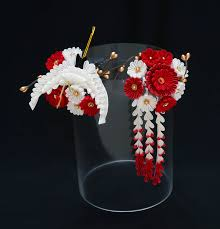 kanzashi hair ornaments tsumami kanzashi hair ornaments