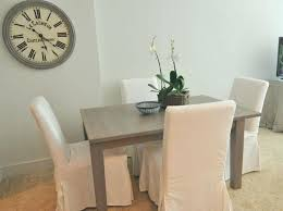 Burlap Dining Chairs Dining Room Chair Covers White Medium Size Of Dining Room