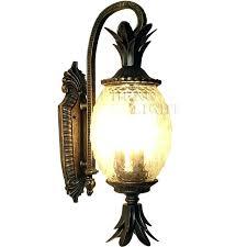 Pineapple Light Fixture Pineapple Light Fixture Solar Light Kit For L Post New 4 Light