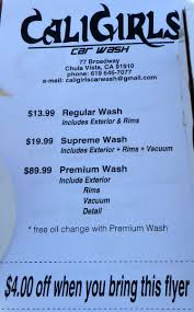lexus escondido car wash hours just a car guy cali girls car wash is open your car needs to be