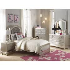 Lil Diva Champagne Piece Twin Bedroom Set RC Willey Furniture - Rc willey bedroom sets