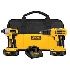 black friday home depot power tool sets dewalt 18 volt nicd cordless drill driver and impact driver combo