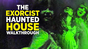 halloween horror nights pass the exorcist haunted house walkthrough at halloween horror nights