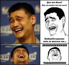 un meme con la cara del basketbolista meme subido por mielsen