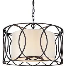 Light Drum Pendant Troy Lighting F1285db Bronze Sausalito 5 Light Drum Pendant