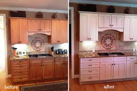 before after kitchen cabinets painting kitchen cabinets before and after photos all home