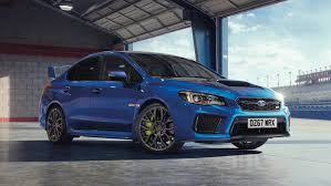 blue subaru gold rims so long and goodbye wrx sti subaru uk launches the final