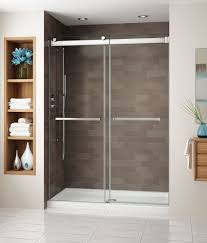 Fleurco Shower Door Fleurco Shower Door Gemini Bypass Bliss Bath And Kitchen