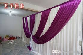 wedding backdrop frame wedding drape pipe set wedding curtain with valance stand with