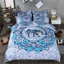 Comforters In Canada Bohemian Bedding Canada Tags Blue Bohemian Bedding White And