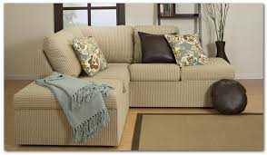 Sectional Sofa Pillows Types Of Best Small Sectional Couches For Small Living Rooms