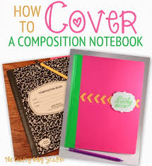 How to Cover a Notebook