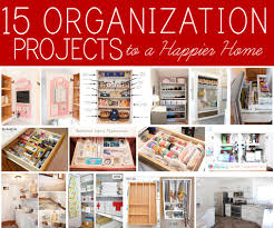home organization projects happier how nest for home organization project ideas