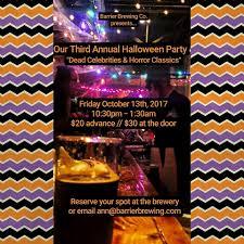 spirit of halloween hours barrier brewing co home facebook