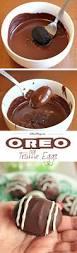easy oreo truffle eggs cakescottage