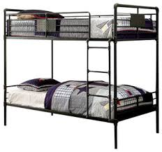 Industrial Bunk Beds Reston Metal Bunk Bed Industrial Bunk Beds By Totally