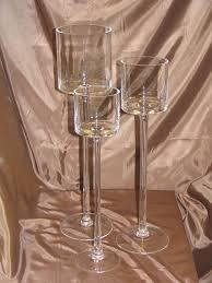 clear glass wine candle holder table centerpiece u2013 www partymill com