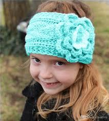 crochet headbands kids winter big wool crochet headbands flowers for baby