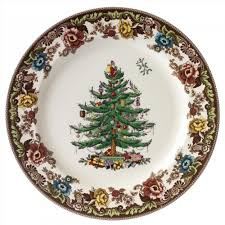 spode tree grove salad plate 8 dishes