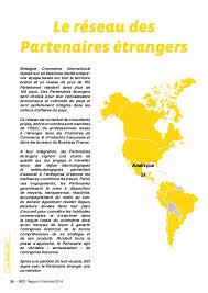 chambre de commerce internationale rapport d activité bretagne commerce international 2014