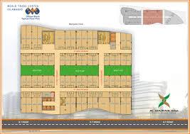 floor plan of a shopping mall world trade center islamabad