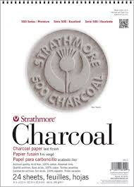 500 series charcoal strathmore artist papers