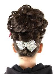 hairstyles for an irish dancing feis feis fayre usa caoimhe double loose curl bun wig