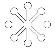free printable snowflake templates u2013 large u0026 small stencil