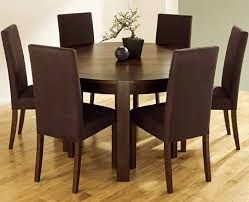 minimalist round dining room table sets for 6 round dining room