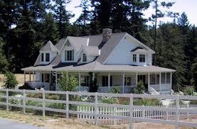 Farmhouse Plans Wrap Around Porch House Plan Wrap Around Porch Home Design Lake Plans With Kevrandoz