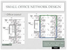floor plan network design of course projects