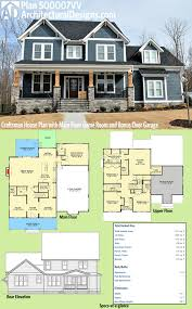 5 Bedroom House Plans by Plan 500007vv Craftsman House Plan With Main Floor Game Room And
