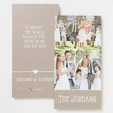 thank you cards wedding personalized 3 photo wedding thank you cards marriage is a